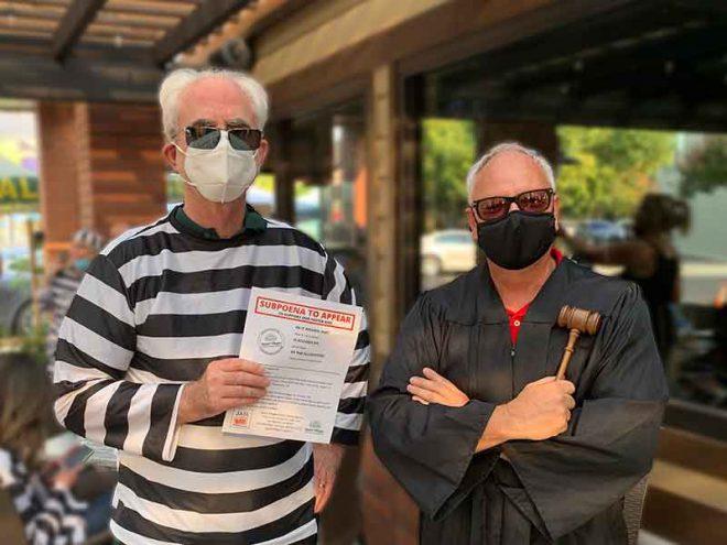 Walt Bruce, Jailbird & Randy Brown, Judge